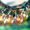 Escolite G40 String Lights for $9 + free shipping w/ Prime