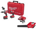 Milwaukee M18 Combo Kit w/ M18 Blower for $299 + free shipping