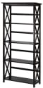 Casual Home Montego 5-Tier Wood Bookcase for $43 + free shipping