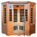 Majestic Saunas Hemlock Corner 3-Person Sauna from $1,299 + free shipping