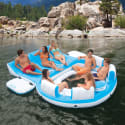 Intex Inflatable Relaxation Island Raft for $81 + free shipping