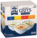 Quaker Instant Grits 48-Count Variety Pack for $6 + free shipping