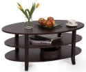 London 3-Tier Coffee Table for $70 + free shipping