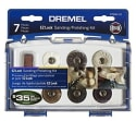 Dremel 7-Piece Sanding and Polishing Kit for $11 + free shipping w/ Prime
