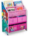 Disney Princess Book & Toy Organizer for $20 + pickup at Walmart