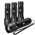 LE LED Mini Tactical Flashlight 4-Pack for $12 + free shipping w/ Prime