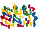 CP Toys Build and Play Marble Run 34pc Set for $15 + free shipping w/ Prime