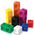 Learning Resources Set of 100 MathLink Cubes for $8 + pickup at Walmart