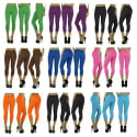 Women's Seamless Capri Leggings 12-Pack for $24 + free shipping