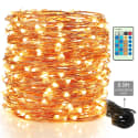 300-LED String Lights w/ Extension Cord for $18 + free shipping