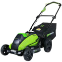 "Greenworks 19"" 40V Cordless Lawn Mower for $155 + free shipping"