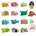 Cable Bite Cable Protectors 12-Pack for $9 + free shipping w/ Prime