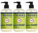 Mrs. Meyer's 13-oz. Liquid Hand Soap 3-Pack for $10 + free shipping w/ Prime