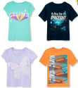 Children's Place T-Shirts for $4 + free shipping