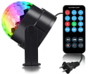 Spriak LED Disco Ball Lamp for $9 + free shipping w/ Prime