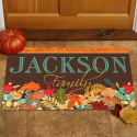 "Personalized Fabulous Fall ""Family"" Doormat for $12 + pickup at Walmart"
