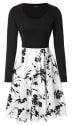 Mixfeer Women's Vintage Midi Dress for $10 + free shipping