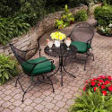 BHG Court 3-Piece Outdoor Bistro Set for $139 + free shipping