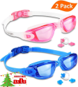 Eversport Swimming Goggles 2-Pack for $11 + free shipping w/ Prime
