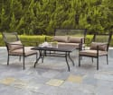 Mainstays Bellingham 4-Piece Patio Set $189 + free shipping
