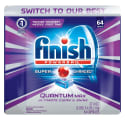 Finish Quantum Powerball 64-Count Detergent for $10 + free shipping