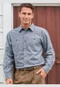 Blair Men's Flecked Flannel Shirt for $14 + free shipping