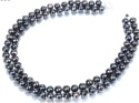 2-Strand AAA Black Freshwater Pearl Necklace for $55 + free shipping