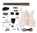Unfinished DIY Electric Guitar Kit for $82 + free shipping