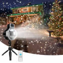 LEDshope Waterproof Snowfall Projector for $15 + free shipping