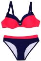 Suzicca Women's Color Block Bikini Set for $11 + free shipping w/ Prime