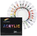 Vacasso Acrylic Paint Tube 24pc Set for $13 + free shipping w/ Prime