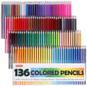 136 Shuttle Art Colored Pencils for $21 + free shipping w/ Prime