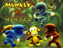 Munkey Vs Ninjas for iPhone / iPad for free