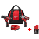 Milwaukee Drill & Impact Driver Kit for $99 + free shipping