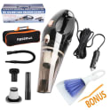 Reserwa Car Vacuum Cleaner with Bag and Brush for $20 + free shipping w/ Prime
