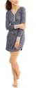 Women's Sweater Knit Henley Sleep Shirt for $4 + pickup at Walmart