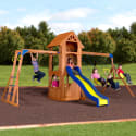 Backyard Discovery Parkway Wooden Swing Set for $439 + pickup at Walmart