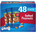 Planters Salted Peanuts 1-oz. Bag 48-Pack for $7 + free shipping w/ Prime