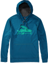 Patagonia Men's Flying Fish PolyCycle Hoodie for $45 + free shipping w/ $50