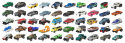 Matchbox Cars 50-Pack for $33 + free shipping