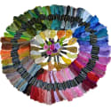 Laozhou Cross Stitch Sewing Thread 150-Pack for $11 + free shipping w/ Prime