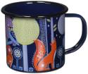 Folklore Night Design Enamel Coffee Mug for $10 + free shipping w/ Prime