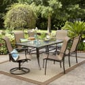 Garden Oasis 7pc Dining Set w/ $53 Sears GC for $277 + pickup at Sears