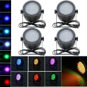 86-LED Stage Light 4-Pack for $47 + free shipping