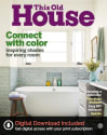 This Old House 1-Year Subscription: 8 issues for $5