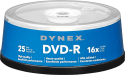 Dynex 16x DVD-R 25-Pack for $4 + pickup at Best Buy
