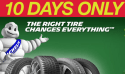 Set of 4 Michelin Tires at Costco: $70 off + 4-cent installation
