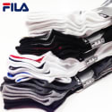 Fila Men's or Women's No-Show Socks 12-Pack for $11 + free shipping