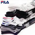 Fila Men's or Women's No-Show Socks 12-Pack for $10 + free shipping