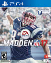 Used Madden NFL 17 for PS4, XB1, or Xbox 360 for $5 + at Redbox locations